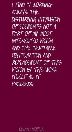 Intrusion quote #1