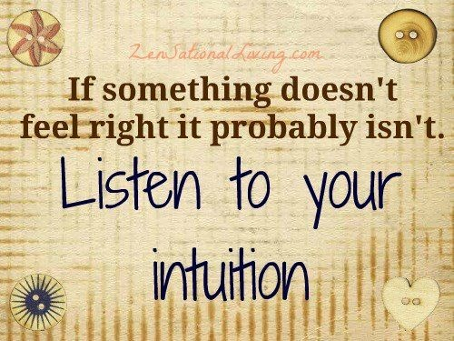 Intuition quote #2