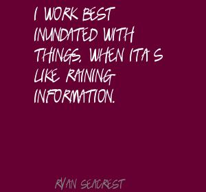 Inundated quote #2