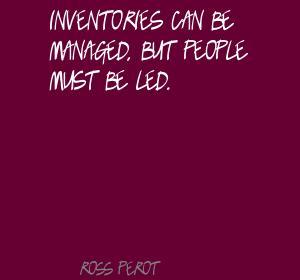 Inventories quote #1