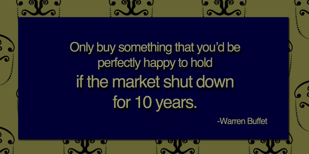 Investor quote #1