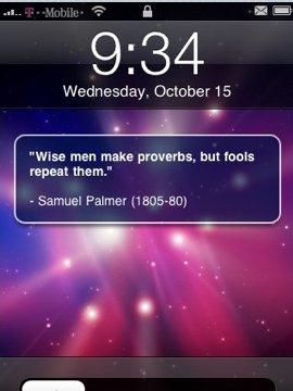 Ipod quote #2