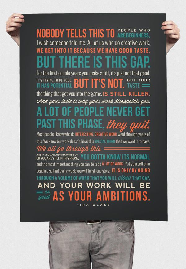 Ira Glass's quote #1