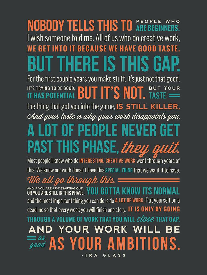 Ira Glass's quote #2