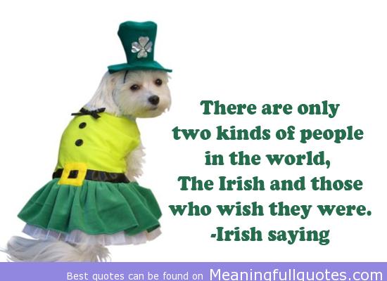 Irish People quote #1