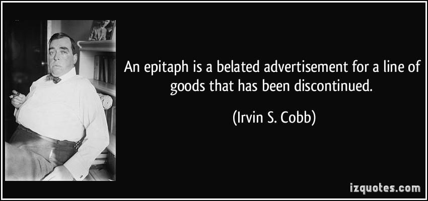 Irvin S. Cobb's quote #3