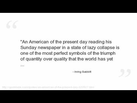 Irving Babbitt's quote #5