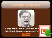 Irving Caesar's quote #6