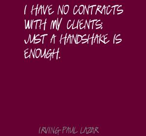 Irving Paul Lazar's quote #3