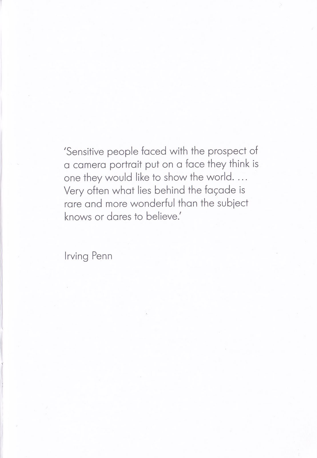 Irving Penn's quote #3