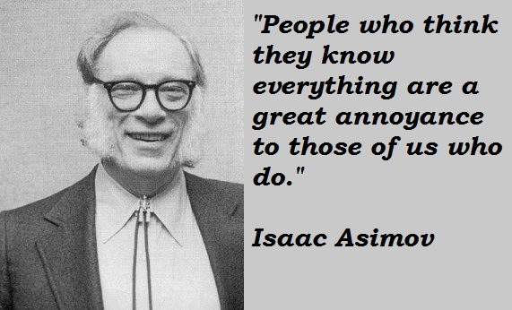 Isaac Asimov's quote #8