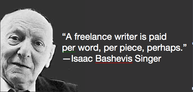 Isaac Bashevis Singer's quote #5