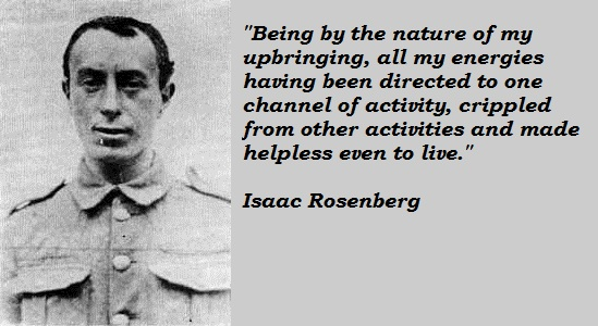 Isaac Rosenberg's quote #2
