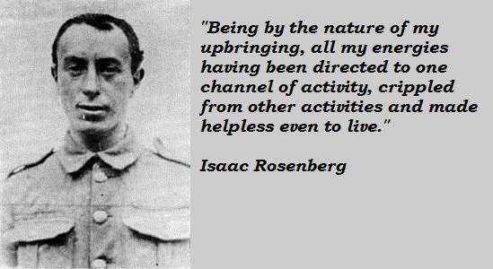 Isaac Rosenberg's quote #2