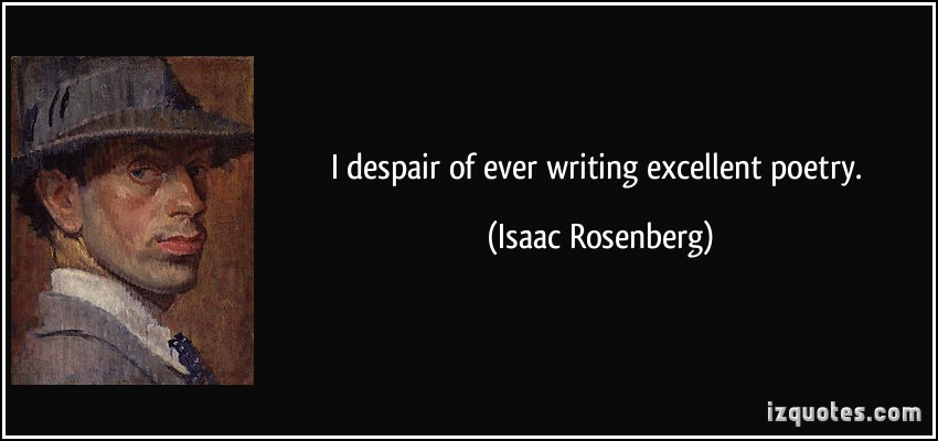 Isaac Rosenberg's quote #3