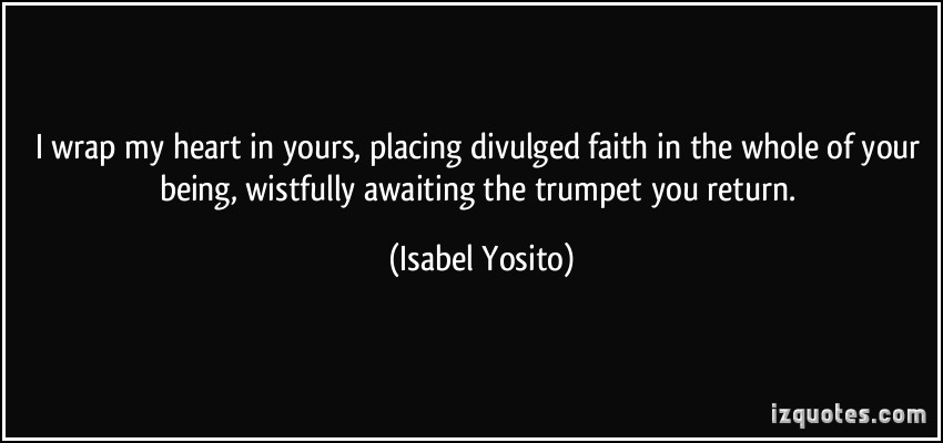 Isabel Yosito's quote #2
