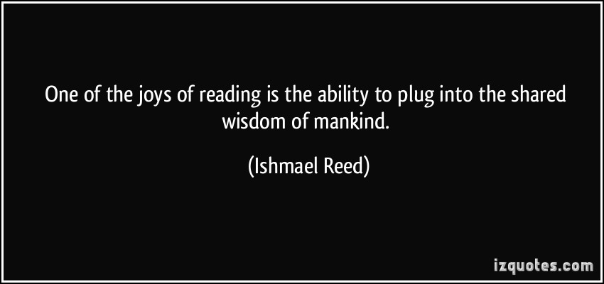 Ishmael Reed's quote #2