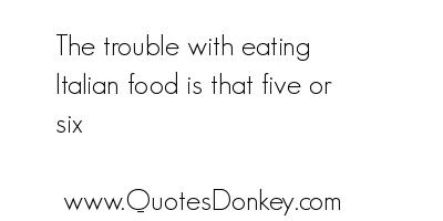 Italian Food quote #2