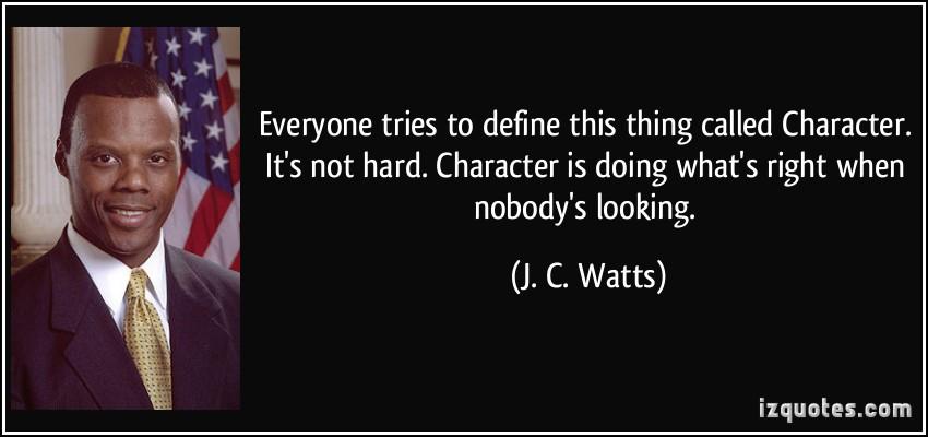 J. C. Watts's quote #6