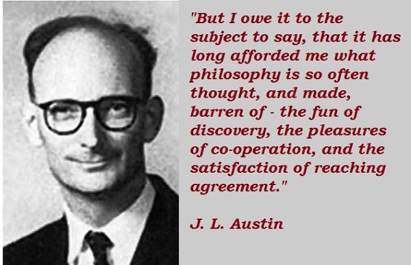 J. L. Austin's quote #1