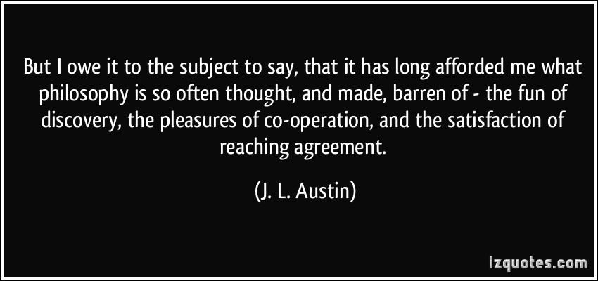 J. L. Austin's quote #3
