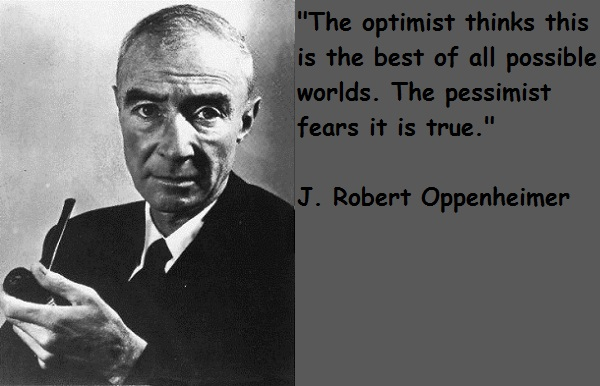J. Robert Oppenheimer's quote #6