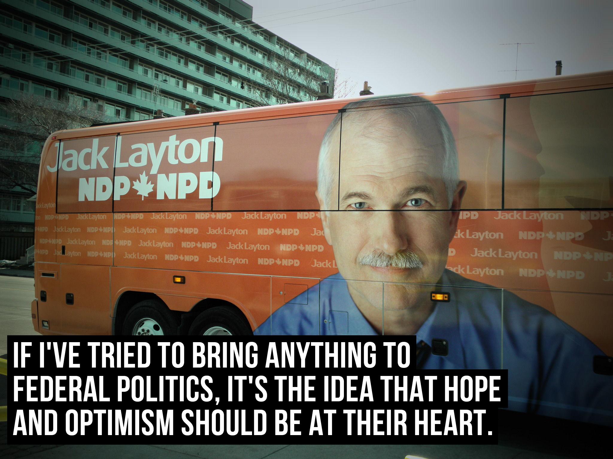 Jack Layton's quote #1