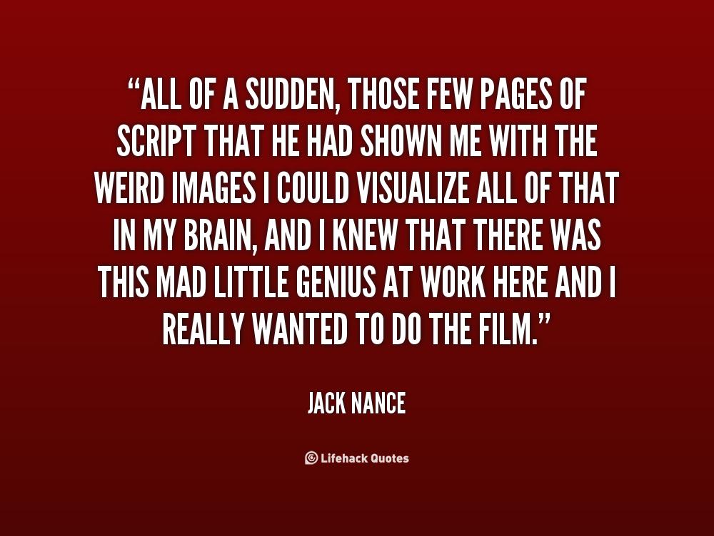 Jack Nance's quote #2