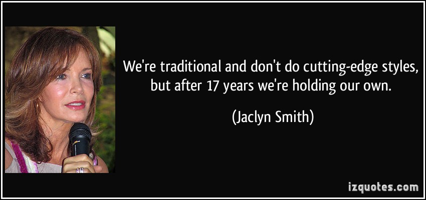 Jaclyn Smith's quote #1
