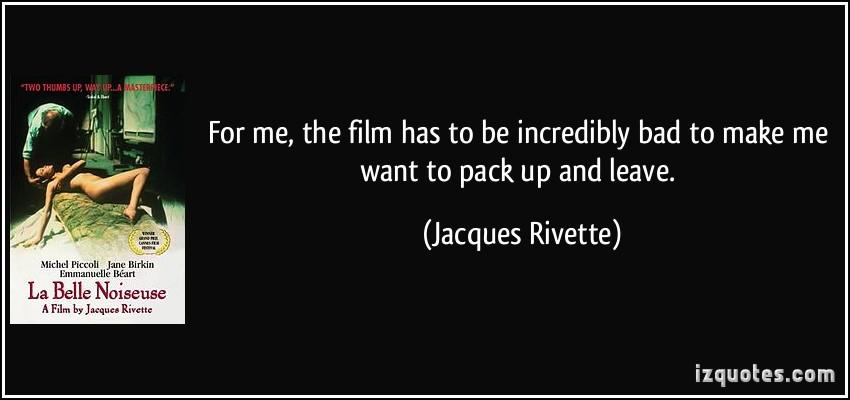 Jacques Rivette's quote #1