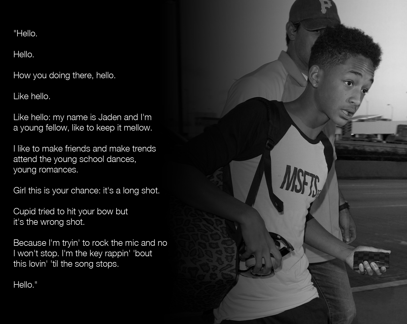 Will Smith Love Quotes Jaden Smith's Quotes Famous And Not Much  Sualci Quotes