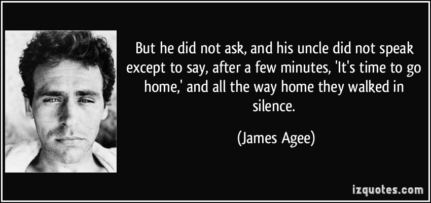 James Agee's quote #3