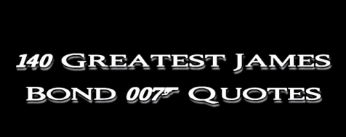 James Bond quote #2