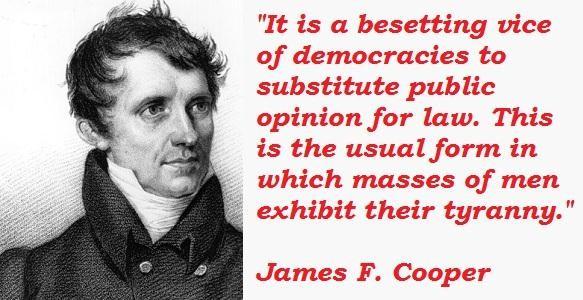 James F. Cooper's quote #1