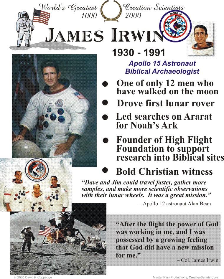 James Irwin's quote #1