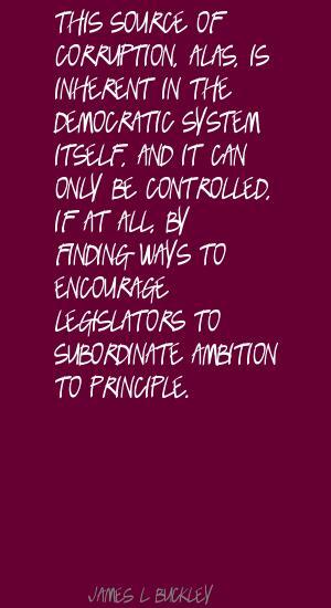 James L. Buckley's quote #8