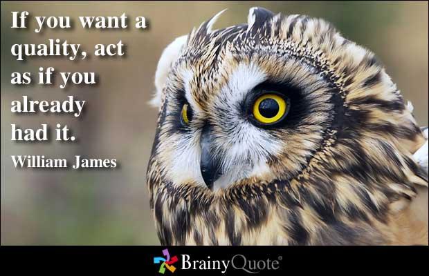 James quote #1
