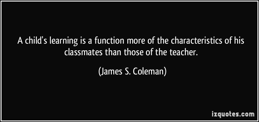 James S. Coleman's quote #5