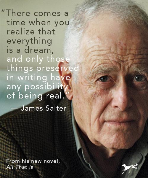 James Salter's quote #7