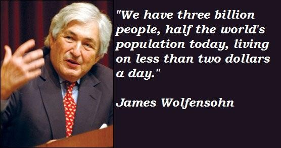 James Wolfensohn's quote #3