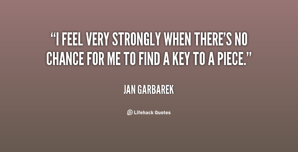 Jan Garbarek's quote #2