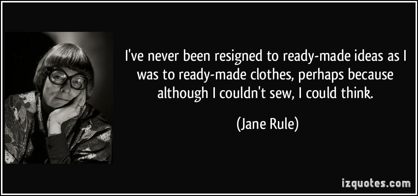 Jane Rule's quote #4