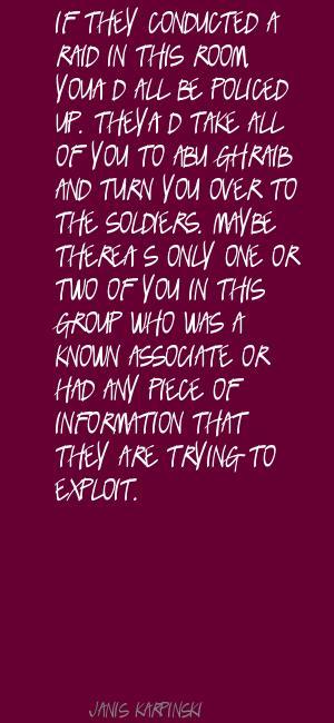 Janis Karpinski's quote #4