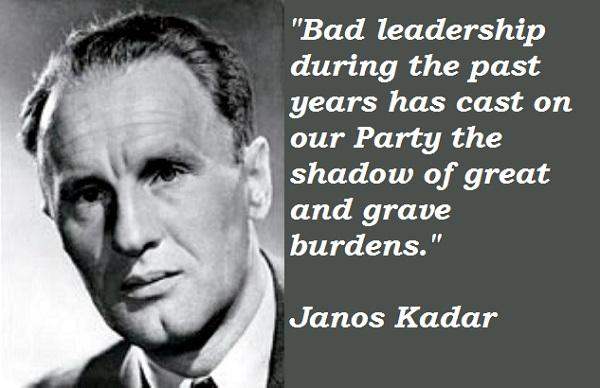 Janos Kadar's quote #3