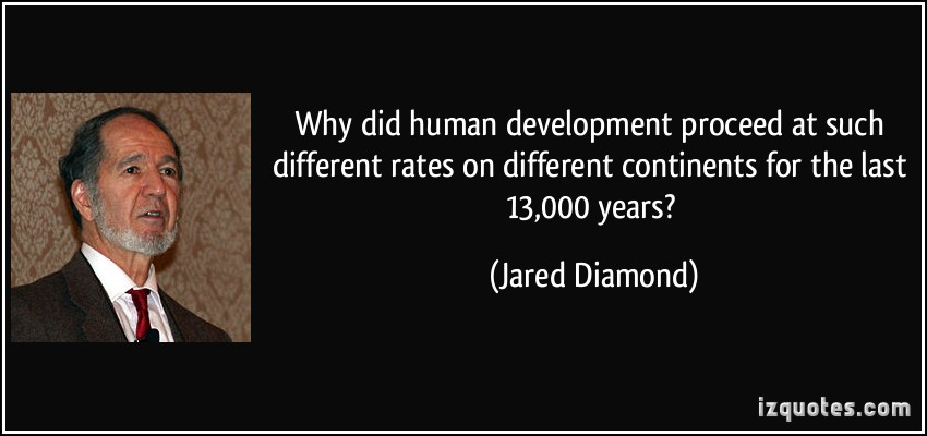 Jared Diamond's quote #1