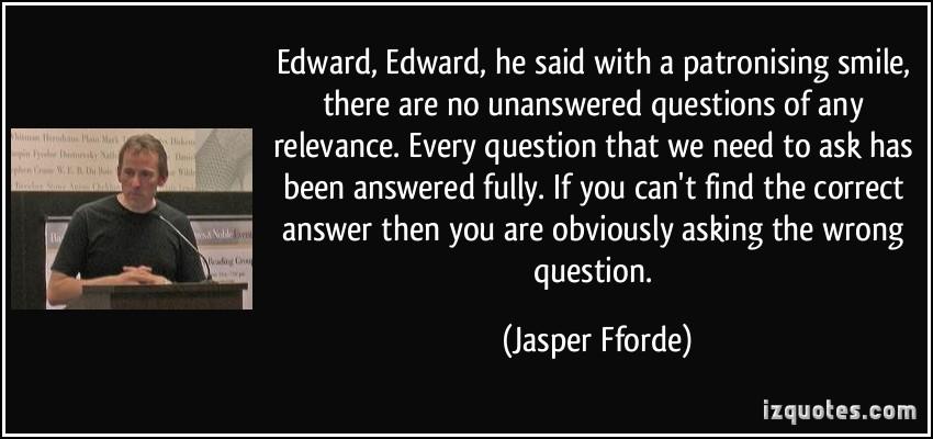 Jasper Fforde's quote #6