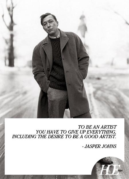 Jasper Johns's quote #1