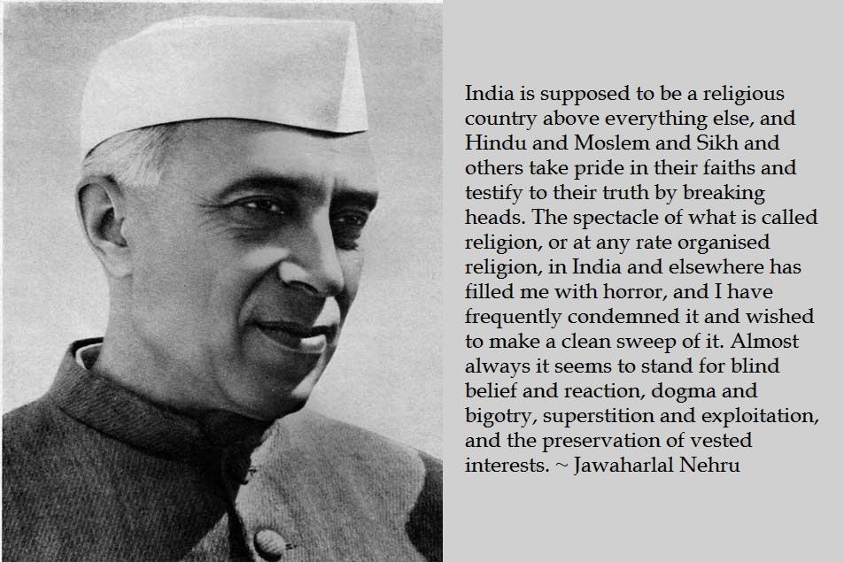 Jawaharlal Nehru's quote