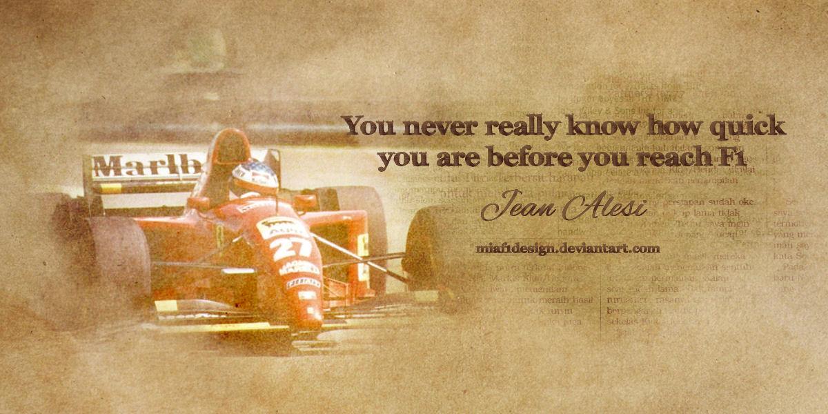 Jean Alesi's quote #3