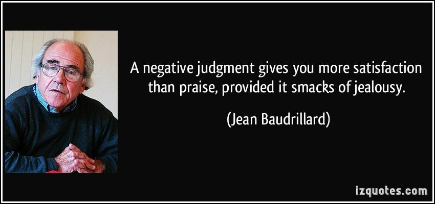 Jean Baudrillard's quote #3